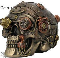 Nemesis Now/ /Steampunk optique enchancer cr/ânienne Cr/âne