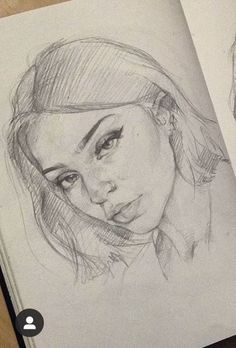drawings of friends Girl Drawing Sketches, Portrait Sketches, Art Drawings Sketches Simple, Pencil Art Drawings, Realistic Drawings, Cool Drawings, Amazing Sketches, Arte Sketchbook, Drawing People