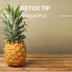 Pineapples contain the digestive enzyme bromelain, and papayas contain papain, natural enzymes that support the digestive system in breaking down and absorbing nutrients from the food we eat. Consuming fresh juice from these fruits can help relieve gas, upset stomach and occasional constipation and diarrhea. Who loves pineapples?