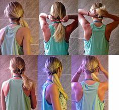 Wh0-is-Hanna: Habiller sa coiffure pour la rentrée (ou autre) : le #headband !