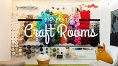Are you trapped in a tangle of yarn and ribbon? These smart ideas can help you organize your craft room in a way that's both cute and functional.