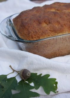 White Oak Acorn Bread, Yum! Learn about this tasty wild edible!