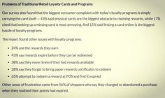 Recent survey of 1700 results show pitfalls to avoid when offering a loyalty program #tampa #tampabay