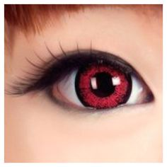 Cherry Red Contact Lenses