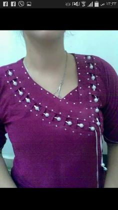 Looks great with deep back neckline blouse.