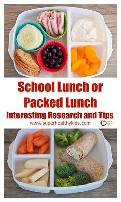 School Lunch Versus Packed