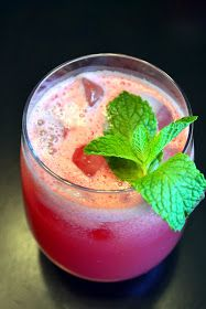 Just Putzing Around the Kitchen: Watermelon-Lime Agua Fresca