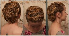 Tutorial for Lagertha's super-complicated hairstyle from Season Two of Vikings.
