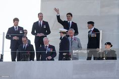 The Prince of Wales, The Duke of Cambridge and Prince Harry visit the trenches and tunnels used during the battle of Vimy Ridge, as part of the 100th year anniversary of the battle on April 9, 2017 in Vimy, France.