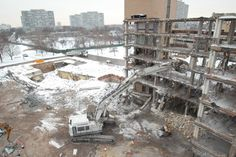 نحوه تخریب ساختمانها با مواد منفجره - گروه پیمانکاری نما Construction, Outdoor, Building, Outdoors, Outdoor Games