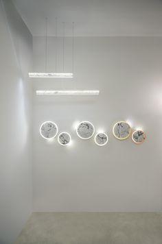 Inarchi stand, Euroluce 2017 #luxury #lighting #design #LED #LEDlamp #minimalist #interior #homedecor #Euroluce #Euroluce2017 #exhibition #Inarchi Lighting Online, Luxury Lighting, Lighting Design, Led Lamp, Track Lighting, Ceiling Lights, Minimalist Interior, Bedrooms, Home Decor