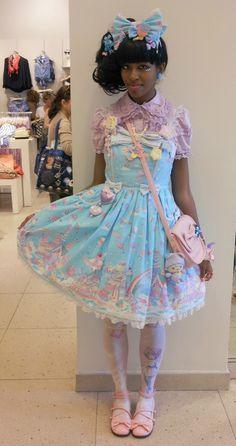 ♥ ロリータ, sweet lolita, fairy kei, decora, lolita, loli, gothic lolita, pastel goth, kawaii, fashion, victorian, rococo ♥
