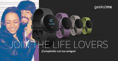¡@Geeksme_ sortea 5 relojes digitales! Participa conmigo y tendremos más opciones de ganar ¿Te apuntas? #JoinTheLifeLovers