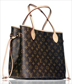 Neverfull di Louis Vuitton - Very light but very strong... and chic! Yessssssss Shane needs to take notes now! Lol