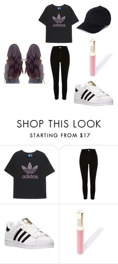 """Untitled #72"" by alicia-goodin on Polyvore featuring adidas Originals and adidas"