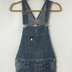 Women's Blue Denim Overalls Union Bay Size Small 100% Cotton Bibs Disneybound #UNIONBAY #Overalls