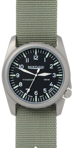 Bertucci watches offer the exceptional functionality required in a Performance Field Watch combined with incredible attention to detail: making them not only high performing but also smart looking. Wo