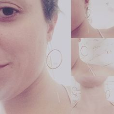 #invista #no #básico #paulaferreira#semijoia#revenda#agoraeahora#beleza#temqueter#tarde#mimo#novacolecao#quero#style#serfeliz#dourado #gold #plate#good #lucky#girly #jour#bella#brinco#earings
