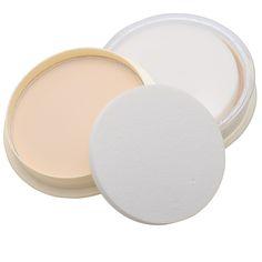 Caliente de La Manera Color Natural Prensados Smooth Polvos Sueltos Polvo Seco de Control de Aceite Corrector de Maquillaje Cosmético Belleza Cuidado de La Cara