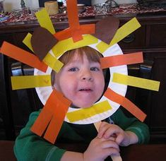 "January Safari: Lion craft. Do different animals each kiddo for ""observing animals"" week."