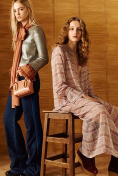 See by Chloé Pre-Fall 2016 Collection - Vogue Fall Fashion 2016, Autumn Winter Fashion, Runway Fashion, Fall Winter, Fashion Images, Fashion Photo, Women's Fashion, Fashion Editorials, Fashion Trends
