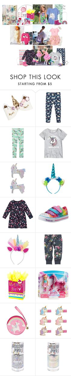 """Sunday 2-25-18 -Birthday Party"" by my-creative-mess ❤ liked on Polyvore featuring Gymboree, Frugi, Accessorize, bluezoo, Skechers and UGG Australia"