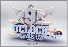 /// It's nine o'clock /// on Behance