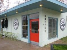 East Village Cafe - Austin Texas - coffee espresso tea pastries nuts art...and kind owners, of course!