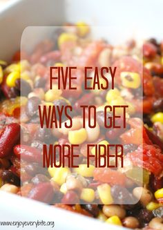 Fiber makes a huge impact on your health and maintaining a healthy weight - here's how to make sure you're getting enough.