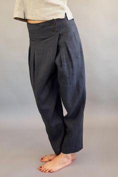 Linen Pants Outfit, Yoga Pants Outfit, Linen Trousers, Boho Pants, Yoga Harem Pants, Drop Crotch Pants, Pants For Women, Clothes For Women, Cool Outfits