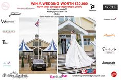 Win a £30,000 wedding on October 11th attend our wedding fayre at the Dallas Burston Polo Ground.