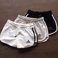 Adidas Woman Sports Leisure Shorts Know how to have the best clothing from original . - Adidas Woman Sports Leisure Shorts Know how to have the best clothes from original brands at a disc - Nike Outfits, Adidas Outfit, Teen Fashion Outfits, Sport Outfits, Adidas Shorts, Cute Lazy Outfits, Trendy Outfits, Summer Outfits, Outfits For Teens