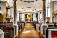 The Interior of Gothenburg Domkyrkan