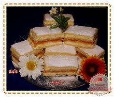 Mimóza szelet French Toast, Sweets, Baking, Breakfast, Food, Cakes, Sweet Pastries, Gummi Candy, Patisserie