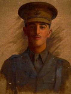 I find the story behind this incredibly moving: Image of WW1 officer identified on Art Detective