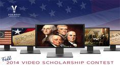 Joe Foss Institute $5,000 Video Scholarship Contest for high school students. Deadline Oct. 19