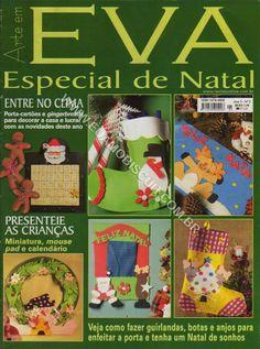 Artesanato com amor...by Lu Guimarães: Revista Arte em EVA Especial Natal 5