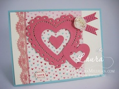 "Laura Milligan, Stampin' Up! Demonstrator - I'd Rather ""Bee"" Stampin!: More Amore"