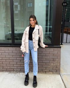 Mode Outfits, New Outfits, Trendy Outfits, Fall Outfits, Casual Winter Outfits, Winter Fashion Outfits, Autumn Winter Fashion, Outfit Winter, Looks Jeans