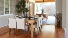 natural white walls brushbox flooring