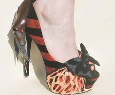 Freddy Krueger High Heels