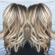 blonde highlights and lowlights - Google Search by caroline