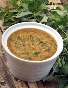Chawli Masoor Dal recipe |