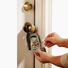 Top Notch Material: Win a Master Lock Combination Push Button Portable Key Safe