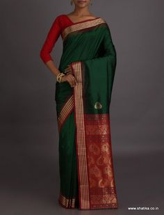 Greeshma Attractive Color Combination #SambalpuriSilkSaree