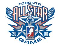 NLL All-Star Game Lacrosse Primary Logo (2006) - 2006 NLL All-Star Game in Toronto, Ontario
