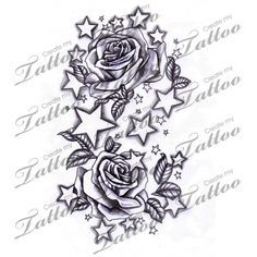 23 Best Rose And Star Tattoo Men Images Tattoos For Men Arm