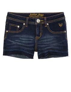Let Out Hem Denim Shorts | Girls Shorts Clothes | Shop Justice