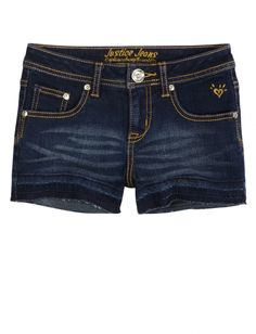 Let Out Hem Denim Shorts | Girls Shorts Clothes | Shop Justice