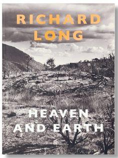 Richard Long, Heaven and Earth, Land Art book